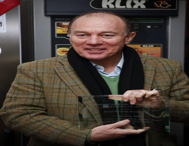Reverse Vending Award Scotland