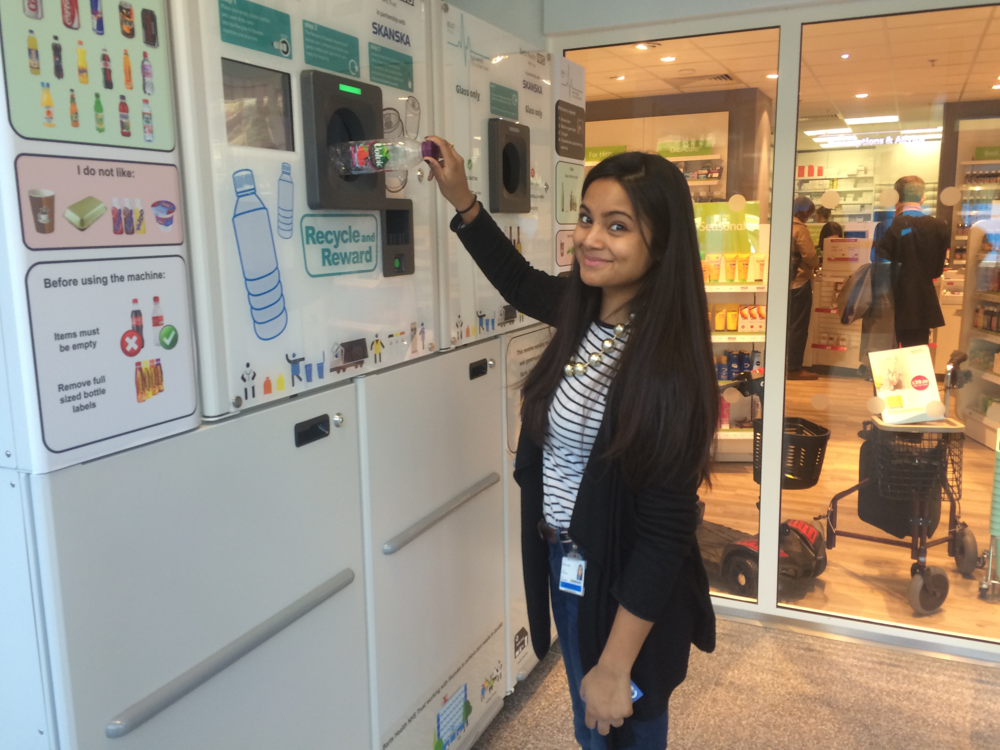 Reverse Vending Machines in Hospital